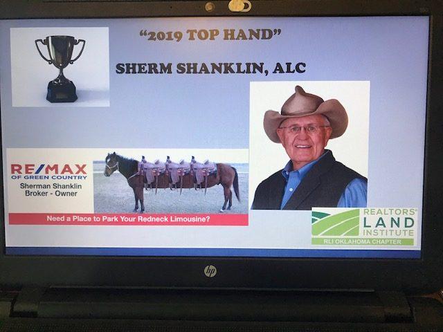 2019 Top Hand Award